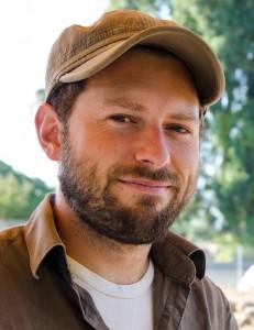 Grabungsleiter Justin Schmidt