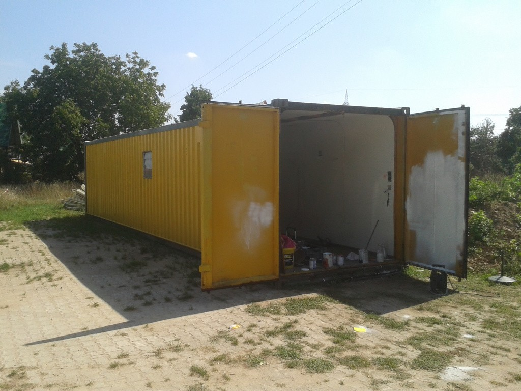 """Unser """"neuer"""" Container"""